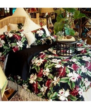 orchids-hawaiian-bedding-collection-by-hanelei-300x360 100+ Palm Tree Bedding Sets, Comforters, Quilts & Duvet Covers