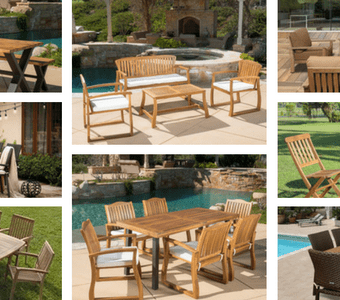 outdoor-teak-furniture-sets-340x300 The Best Wicker Conversation Sets You Can Buy