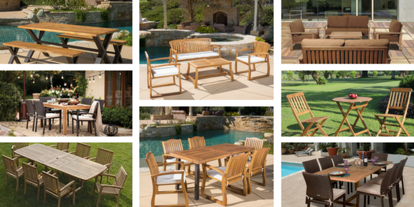 outdoor teak furniture sets