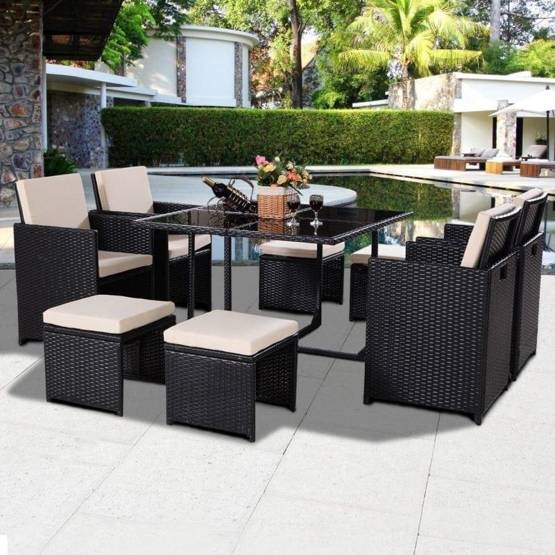 tangkula-9-piece-black-wicker-garden-furniture-set-3-4-800x800 Best Wicker Patio Furniture Sets