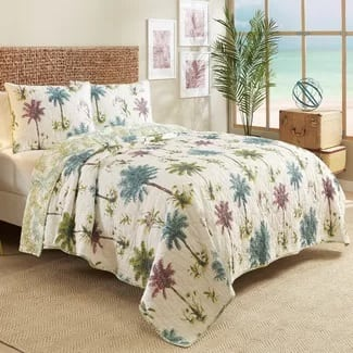 tropical-lush-comforter-set2 Hawaii Themed Bedding Sets