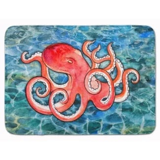 zoomie-kids-octopus-memory-foam-bath-rug Best Octopus Area Rugs