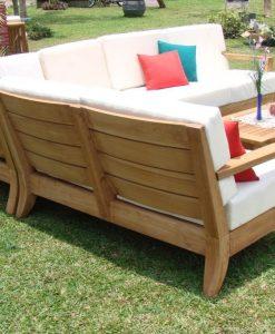 atnas grade a teak patio sofa set