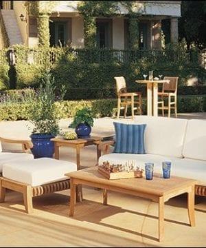 wholesaleteak 5-pc patio sofa set