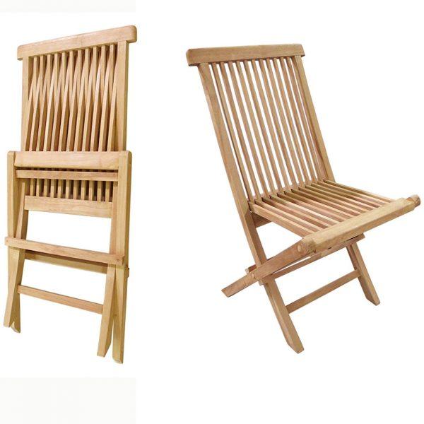 folding teak patio chairs