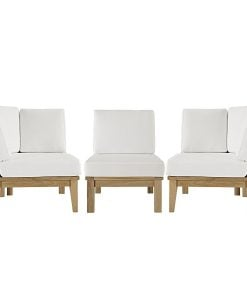 outdoor teak patio sofa set