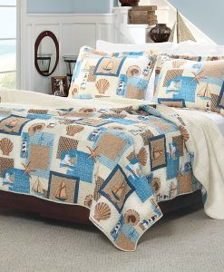16-greenland-home-beachcomber-comforter-set-247x300 The Best Kids Beach Bedding You Can Buy