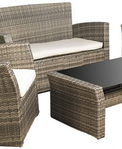 Mission Hills Furniture Wicker Patio Sofa Set