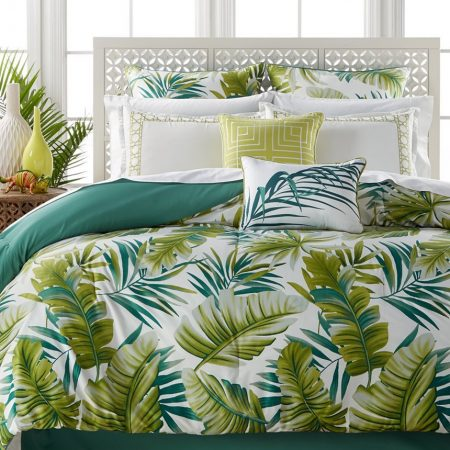 2-tropical-bedding-set-bed-in-a-bag-450x450 The Best Palm Tree Bedding and Comforter Sets