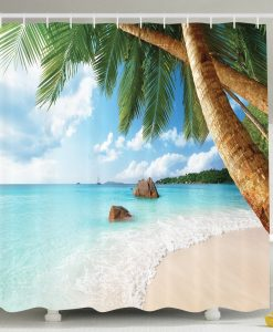 28-Palm-Tree-Aqua-Water-Shower-Curtain-247x300 The Best Beach Shower Curtains You Can Buy