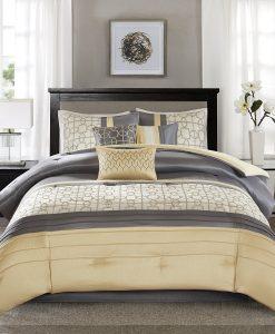 Madison Park Geometric Comforter Set