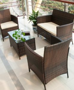 3-merax-brown-rattan-wicker-set-247x300 The Best Wicker Conversation Sets You Can Buy