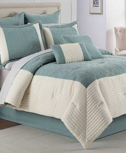 Hathaway Geometric Comforter and Bedding Set