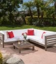 ravello outdoor teak patio set