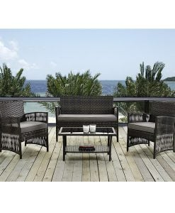 Wonderful 6 IDS Home 4pc Outdoor Wicker Furniture Set  ... Part 32