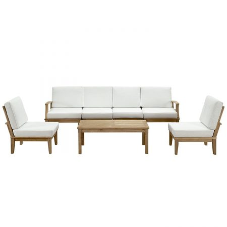 6-lexmod-7pc-outdoor-marina-teak-sofa-set-450x450 The Ultimate Guide to Outdoor Teak Furniture