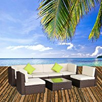 7-piece-wicker-sectional-sofa-set The Best Wicker Sectional Sofas You Can Buy