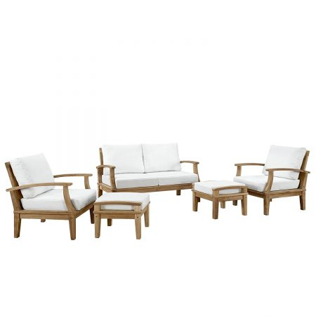 8-lexmod-outdoor-5pc-teak-sofa-set-450x450 The Ultimate Guide to Outdoor Teak Furniture