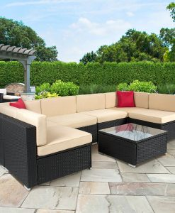 9-best-choice-products-wicker-sofa-set-247x300 The Best Wicker Sectionals You Can Buy
