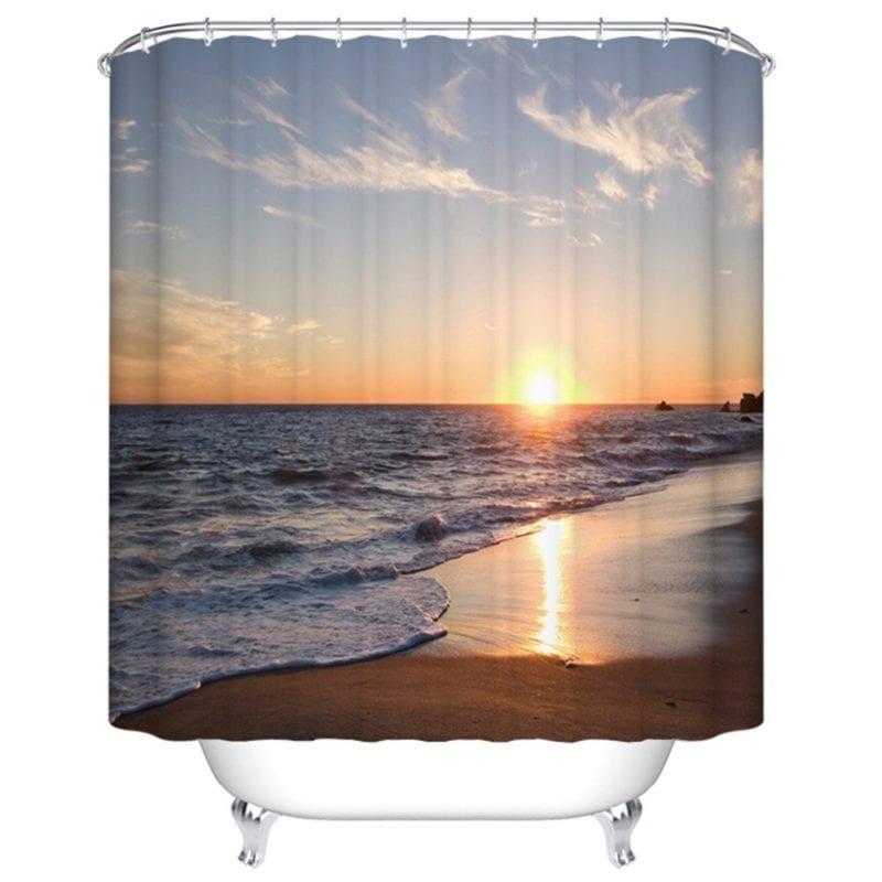 Goodbath-Beach-Shower-Curtain-800x800 Nautical and Beach Themed Shower Curtains
