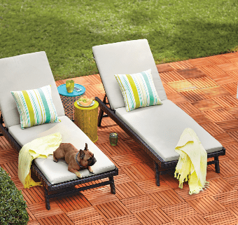calypso wicker chaise lounge chair