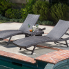 home loft concepts wicker chaise lounge set