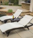 rio vista wicker chaise lounge set