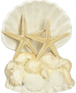 1-Lillian-Rose-Seashell-Wedding-Cake-Topper-247x300 Nautical and Beach Wedding Cake Toppers