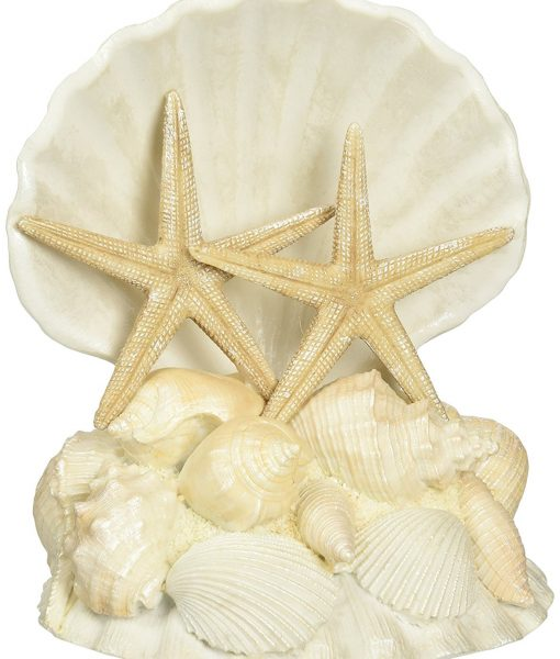 Lillian Rose Seashell Wedding Cake Topper