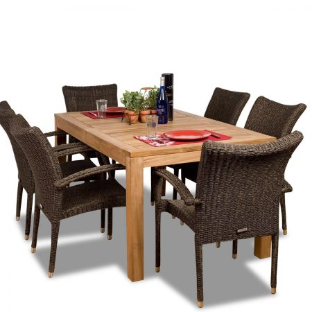 1-amazonia-teak-brussells-7pc-dining-set-450x450 The Ultimate Guide to Outdoor Teak Furniture