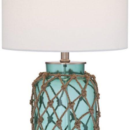 1-crosby-blue-glass-bottle-coastal-rope-table-lamp-450x450 100+ Coastal Themed Lamps