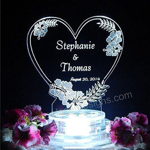 1-hibiscus-heart-lighted-beach-wedding-topper