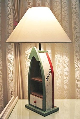 Nautical Rustic Coastal Boat Table Lamp
