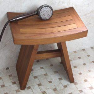 "Original Asian Style 18"" Teak Shower Bench"