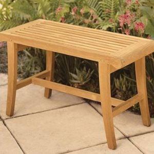 Small Outdoor Grade A Teak Wood Bench