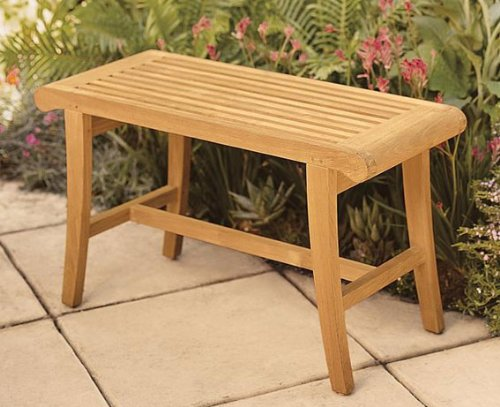 1-small-outdoor-grade-a-teak-wood-bench The Ultimate Guide to Outdoor Teak Furniture