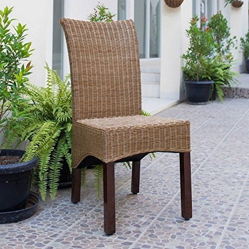 Campbell Rattan Wicker Dining Chair