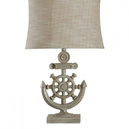 10-StyleCraft-Shipwheel-Nautical-Table-Lamp-450x450 Anchor Lamps