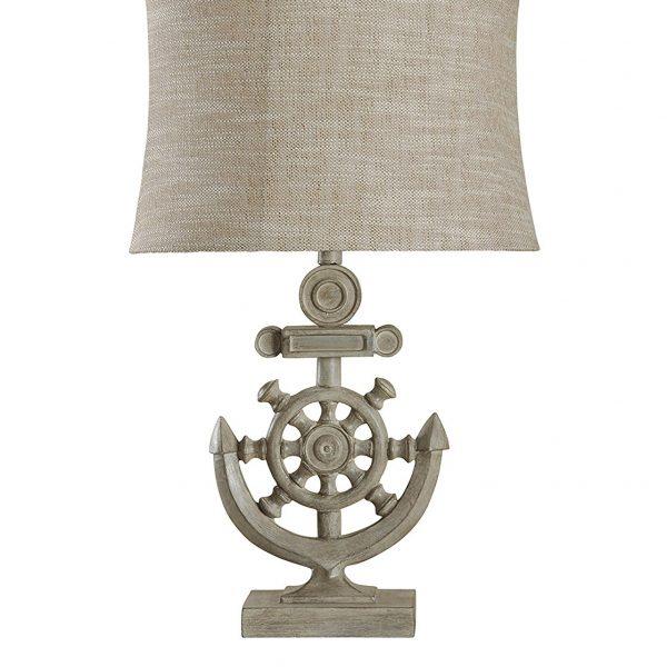Nautical lamps beachfront decor stylecraft shipwheel nautical table lamp aloadofball Images