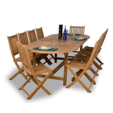 10-amazonia-teak-bergen-11pc-dining-set-450x450 The Ultimate Guide to Outdoor Teak Furniture