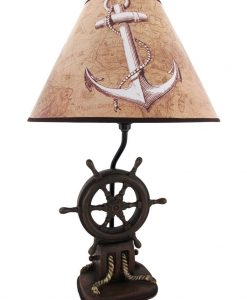 10-captains-shipwheel-anchor-nautical-lamp-247x300 The Best Anchor Lamps You Can Buy
