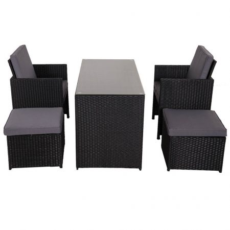10-sundale-outdoor-black-wicker-dining-set-450x450 Best Outdoor Wicker Patio Furniture