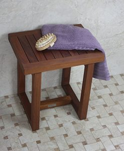 "Original Spa 18"" Teak Shower Bench"