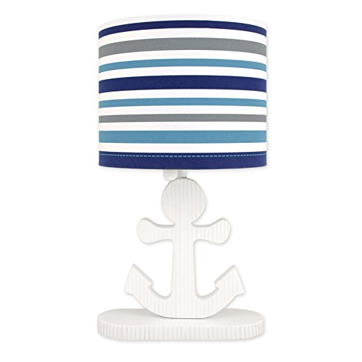 High Seas Nautical Collection Striped Lamp