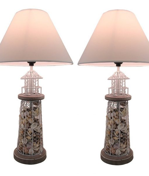 11-seashell-metal-mesh-table-lamps