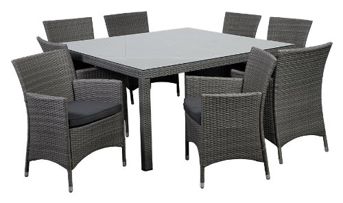 11b-atlantic-9pc-deluxe-wicker-dining-set Best Outdoor Wicker Patio Furniture