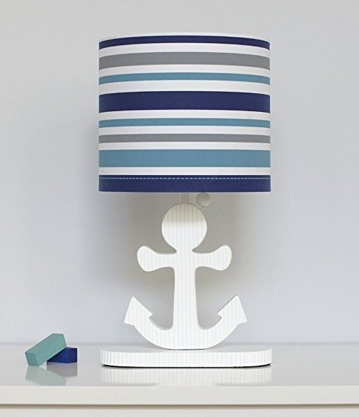 11b-high-seas-nautical-collection-striped-lamp-516x600 Best Nautical Themed Lamps