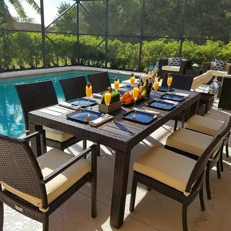 11b-modern-wood-top-outdoor-wicker-dining-set-450x450 Best Outdoor Wicker Patio Furniture
