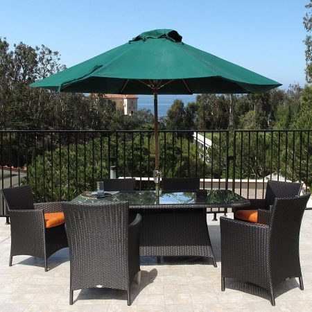12-hudson-resin-wicker-7pc-dining-set-450x450 Best Outdoor Wicker Patio Furniture