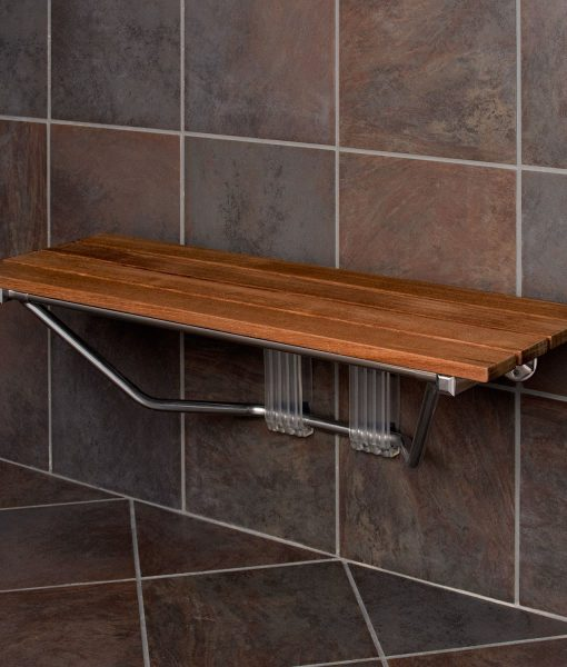 12-modern-folding-built-in-teak-shower-bench